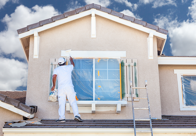 Advantages of Interior and Exterior House Painting
